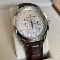 Jaeger-LeCoultre Master Chronograph Steel 40mm Silver No numerals United States of America, Illinois, Western Springs