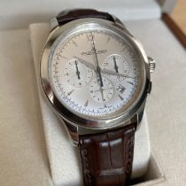 Jaeger-LeCoultre Master Chronograph Otel 40mm Argint Fara cifre