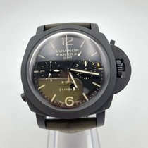 Panerai Luminor 1950 8 Days Chrono Monopulsante GMT PAM 00317 2011 gebraucht