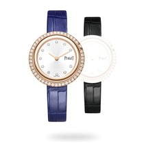 Piaget Rose gold Quartz Silver 34mm new Possession