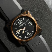 Bell & Ross Rose gold Automatic Black Arabic numerals 45mm pre-owned BR 01-92