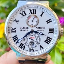 Ulysse Nardin Marine Chronometer 43mm Steel 43mm White Roman numerals United States of America, Texas, Plano