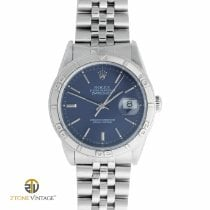 Rolex Datejust Turn-O-Graph Steel 36mm Blue No numerals Singapore, Singapore