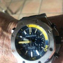 Audemars Piguet Royal Oak Offshore Diver Chronograph Steel 42mm Blue No numerals
