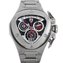 Tonino Lamborghini Steel 44.3mm Quartz SW3007 pre-owned
