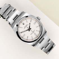 Rolex Oyster Perpetual 36 Staal 36mm Wit Nederland, Maastricht
