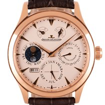 Jaeger-LeCoultre Master Eight Days Perpetual Rose gold 40mm Silver