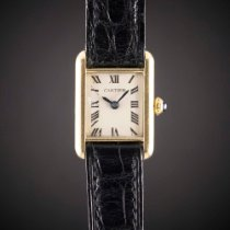 Cartier Yellow gold Manual winding Vintage pre-owned