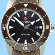 Rado HyperChrome Captain Cook Titanio 45mm Marrón