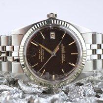 Rolex Datejust Acero 36mm Marrón Sin cifras