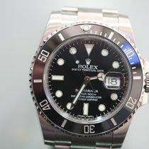 Rolex Submariner Date Acero 40mm Negro Sin cifras