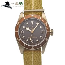 Tudor Automatic Brown 43mm pre-owned Black Bay Bronze