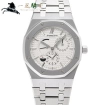 Audemars Piguet Royal Oak Dual Time Steel 39mm White