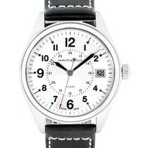 Hamilton Khaki Field new Quartz Watch with original box and original papers H68551753