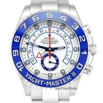 Rolex Yacht-Master II Steel 44mm White Arabic numerals United Kingdom, Manchester