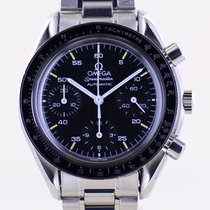 Omega Speedmaster Reduced Acero 39.1mm Negro Sin cifras