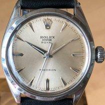 Rolex Oyster Precision Steel 34mm White No numerals United States of America, Massachusetts, Boston