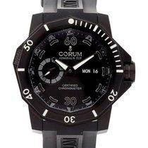 Corum Admiral's Cup Seafender Deep Hull nuevo Automático Reloj con estuche y documentos originales 947.950.94-0371 AN22