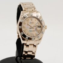 Rolex Lady-Datejust Pearlmaster Oro rosa 34mm Madreperla Romanos