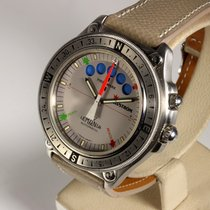 Lemania Steel 42mm Automatic 8734 pre-owned