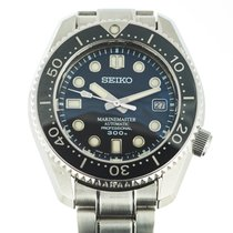 Seiko Marinemaster pre-owned 44mm Black Date Steel