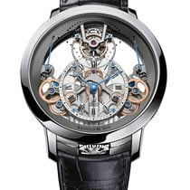 Arnold & Son Time Pyramid 1TPDST01AC124S Nowy Stal 44.6mm Manualny