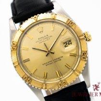 Rolex Datejust Turn-O-Graph Gold/Stahl 36mm Schwarz Keine Ziffern Deutschland, München