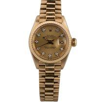 Rolex Lady-Datejust 6917 Sehr gut Gelbgold 26mm Automatik Schweiz, Zug