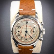 Gallet Steel 34.23mm Manual winding pre-owned