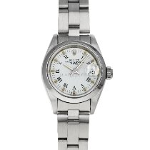 Rolex Oyster Perpetual Lady Date Steel 26mm White Roman numerals United States of America, Maryland, Baltimore, MD