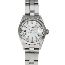 Rolex 69160 Steel 1989 Oyster Perpetual Lady Date 26mm pre-owned United States of America, Maryland, Baltimore, MD