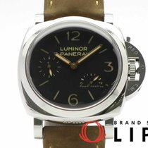 Panerai Luminor 1950 3 Days Power Reserve Otel 47mm Negru