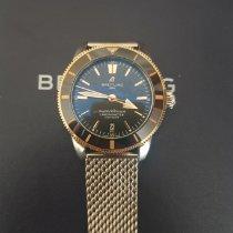 Breitling Superocean Héritage 42 Gold/Steel Black No numerals
