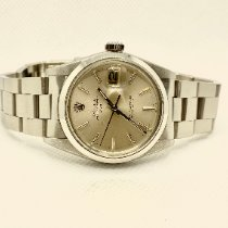 Rolex Oyster Perpetual Date Stahl 34mm Silber Keine Ziffern Deutschland, Augsburg