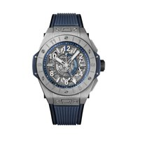 Hublot Big Bang Unico Titanium 45mm Transparent Arabic numerals United States of America, Iowa, Des Moines