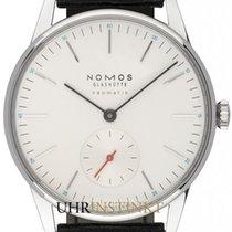 NOMOS Orion Neomatik Steel 36mm White