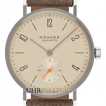 NOMOS Tangente 33 Staal 32.8mm Champagne