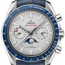 Omega Platine Remontage automatique Gris 44.2mm nouveau Speedmaster Professional Moonwatch Moonphase