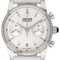 Union Glashütte Seris Steel 38mm Mother of pearl