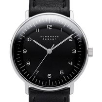 Junghans max bill Hand-winding 027/3702.04 New Steel 34mm Manual winding