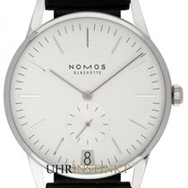 NOMOS Orion Datum new 2019 Manual winding Watch with original box and original papers 381