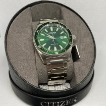 Citizen Steel 43mm Manual winding NEW/WARRANTY Citizen Men's Eco-Drive Brycen Hulk Green Dial Watch AW1598-70X new United States of America, Florida, Kissimmee
