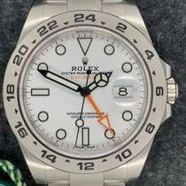 Rolex Explorer II Steel White