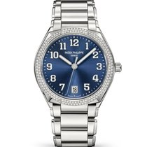 Patek Philippe Twenty~4 Steel 36mm Blue Arabic numerals