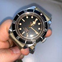 Tudor Black Bay occasion 41mm Noir Plis