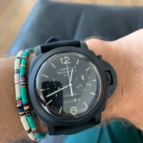 Panerai Luminor 1950 8 Days Chrono Monopulsante GMT PAM 00317 gebraucht