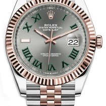 Rolex Datejust II Gold/Steel 41mm Grey No numerals United States of America, New Jersey, Woodbridge