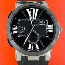 Ulysse Nardin Executive Dual Time Otel 43mm Negru Roman