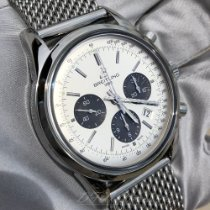 Breitling Transocean Chronograph Steel 43mm White No numerals United States of America, Texas, Frisco