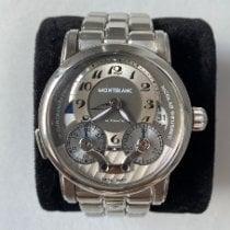 Montblanc Nicolas Rieussec Steel 43mm Grey Arabic numerals United States of America, New York, New York